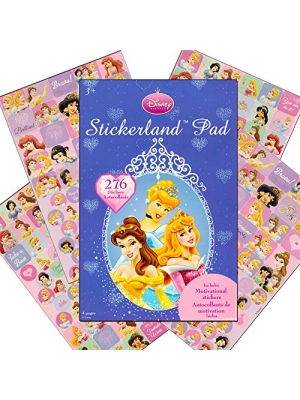 Disney Princess Stickers ~ 276 Reward Stickers (Cinderella and Friends)