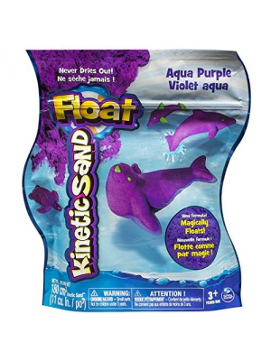 Kinetic Sand Float Reusable Pouch, Aqua Purple