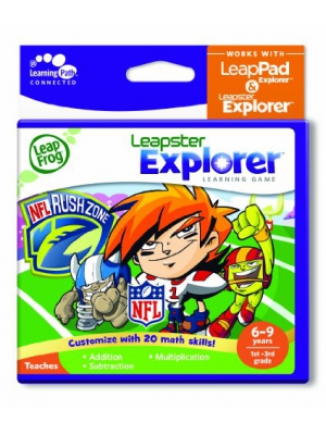 LeapFrog Explorer Learning Game: NFLRush Zone (works with LeapPad Explorer & Leapster Explorer)