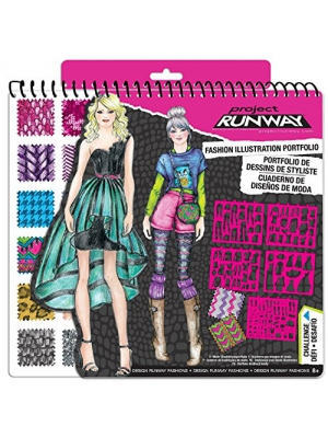 Project Runway Fashion Design Sketch Portfolio - Limited Release