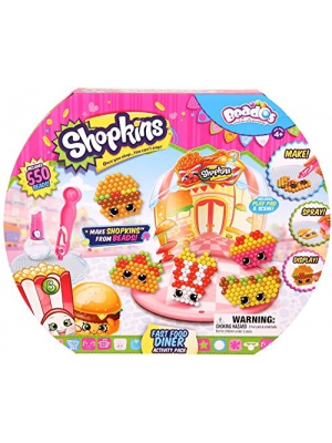 Beados Shopkins Fast Food Diner Activity Pack