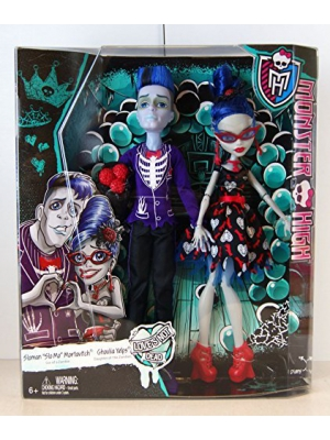 Monster High Love's Not Dead - 2 Pack: Slo Mo & Ghoulia Yelps by Mattel