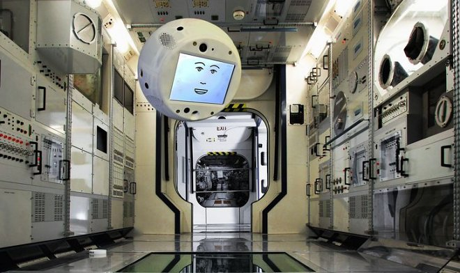 At the ISS there will be a flying artificial intelligence