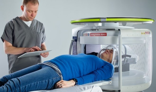 The world's first mobile MRI was successfully tested in humans