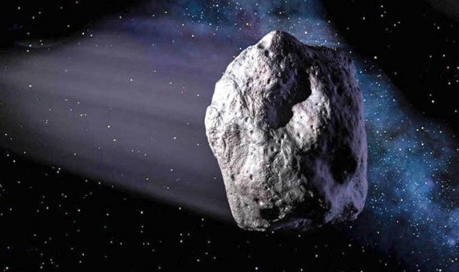 Scientists want to build the scientific station in a large asteroid