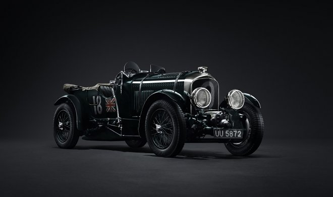 Bentley decided to recreate Blower - one of the most iconic sports cars of the 1920s