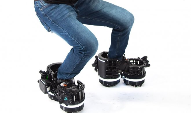 Ekto One VR boots will allow you to walk while staying in place