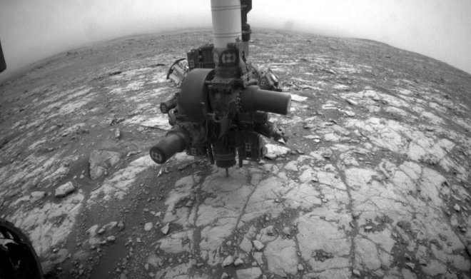 The Curiosity mars rover has collided a task which was to it too hard