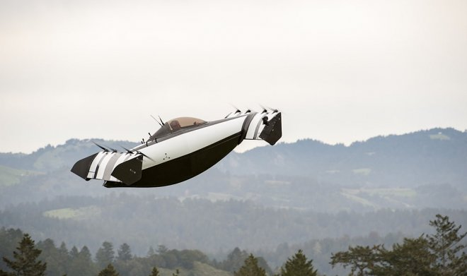 Canadians start a passenger kopter of BlackFly, for management of which the license of the pilot
