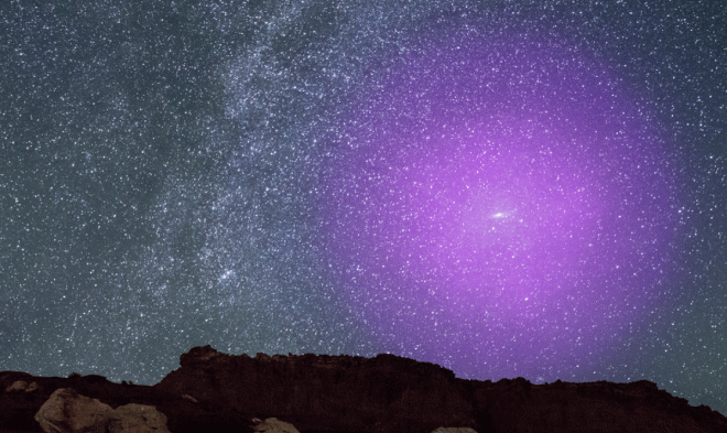 The collision of the Milky Way and the Andromeda galaxy has already begun