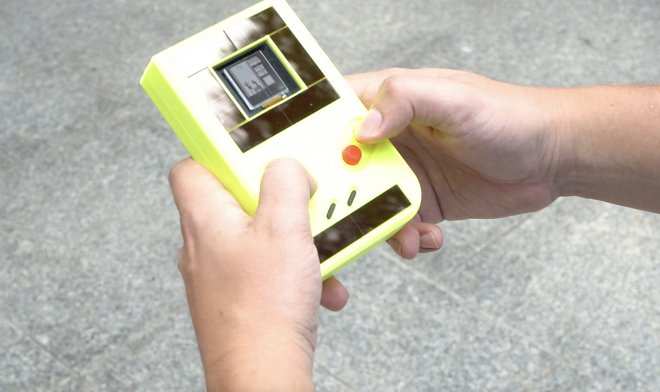 The new Game Boy runs without batteries - but goes off every 10 seconds
