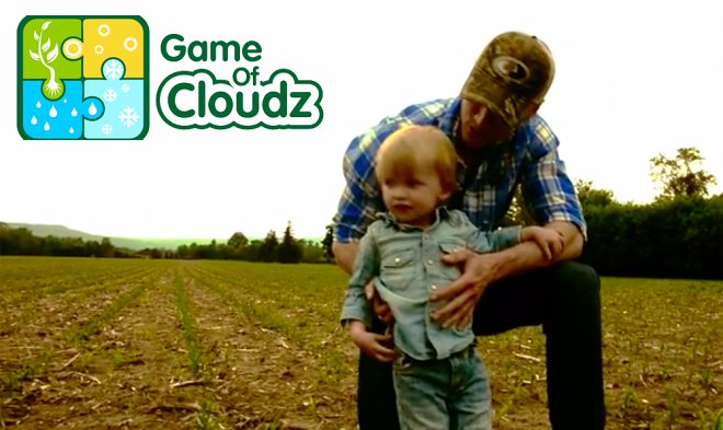 Creators of Game of Cloudz have turned a weather forecast v  a game