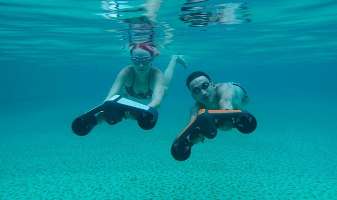 Trident – the compact underwater scooter for fascinating voyages