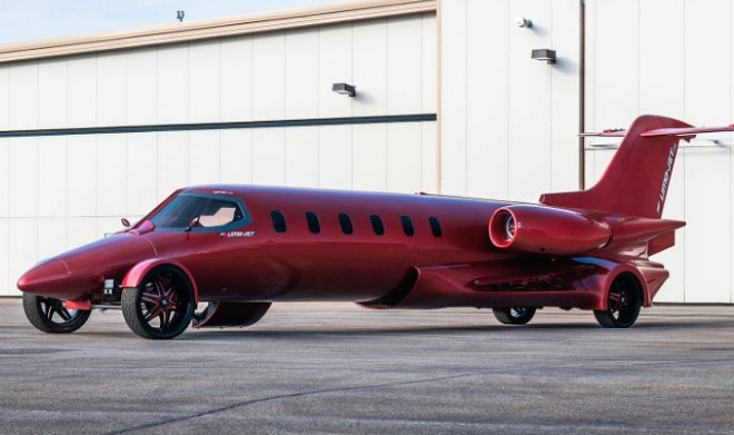 The only Learjet limousine of its kind goes to auction