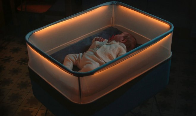 The Ford company has presented a cradle s  whether  at you desire to go to navorachivat circles on a quarter at 3 o'clock in the morning only because the baby wonderfully falls asleep during the trip in the car Arose effect of the lulling trip