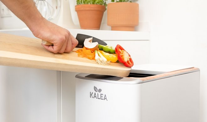 Kitchen gadget Kalea in two days will turn food waste into compost