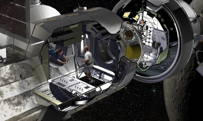 Lockheed Martin has shown a concept of passenger van for flight to Mars