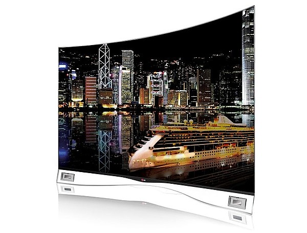 In the USA sales of the first curved OLED TV
