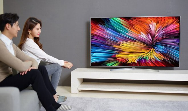 LG has presented the TV with permission of Super UHD on the basis of nanocells