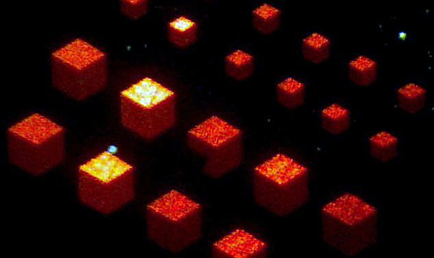 Scientists have created the metamaterial turning a flat surface in three-dimensional