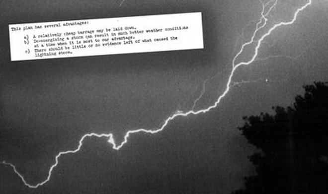 The story of how the CIA was going to turn lightning into a deadly weapon