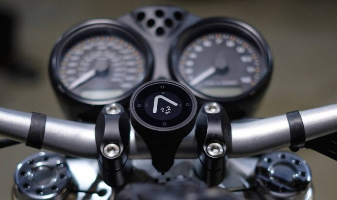 The startup of Beeline offers motorcyclists the simplest GPS navigator in the world