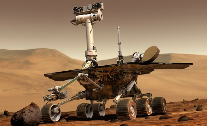 Whether it will be possible to awaken the Opportunity mars rover after the termination of a big dust storm?
