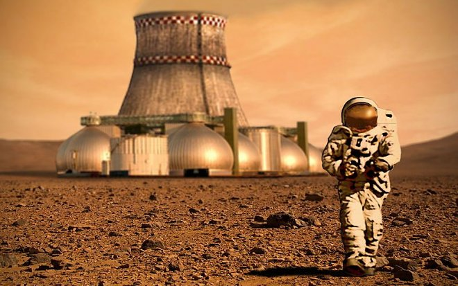 NASA recognized that by means of the existing technologies to master Mars it won't turn out