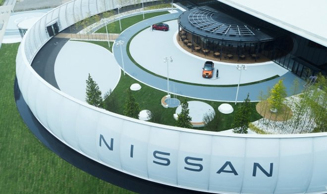 Nissan allowed electric car owners to pay for parking with energy