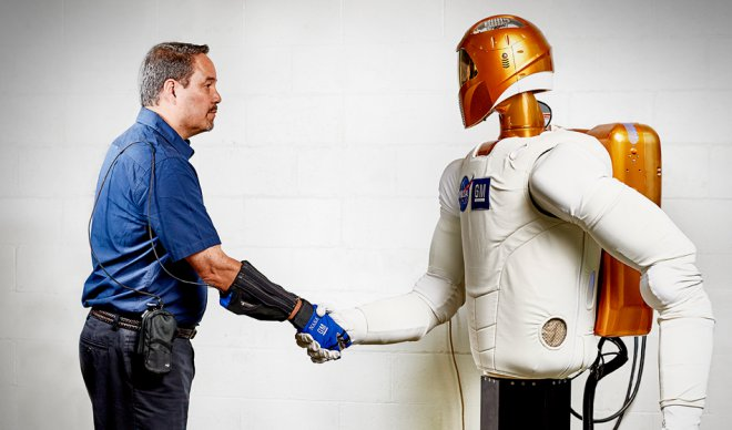 the Robo-glove developed by NASA will double strength of the person