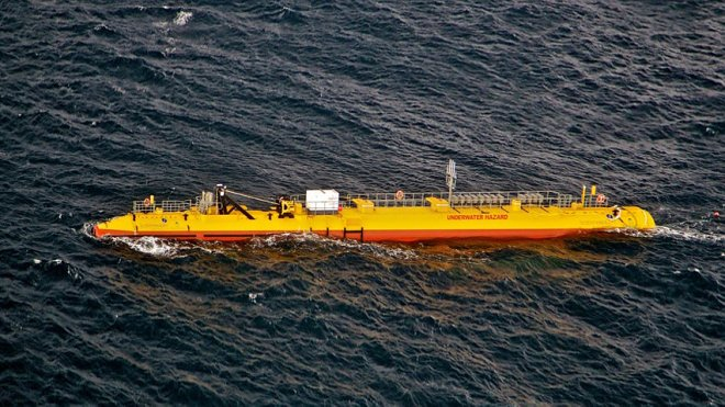 The tidal turbine has shown record productivity in a year