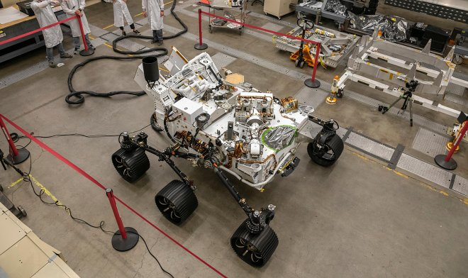 Few people know - but the Perseverance rover has a twin brother and his name is Optimism