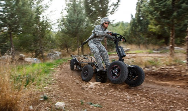 Israel has developed the off-road scooter for military
