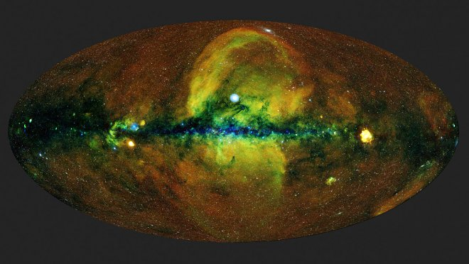 This is what our universe looks like for those who can see X-rays