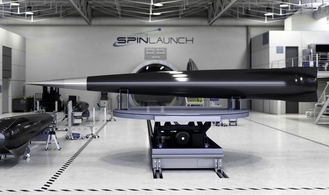 The catapult of SpinLaunch will start freight in space v  120 times are cheaper than a rocket