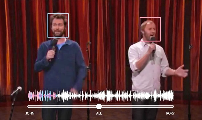 The artificial intelligence of Google has learned to distinguish separate voices in crowd