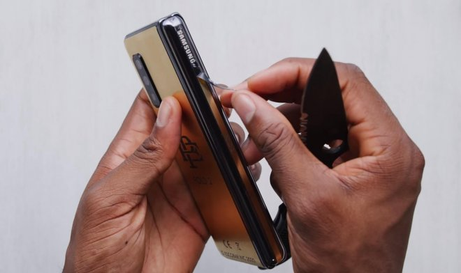 The famous flexible smartphone Escobar Fold turned out to be a large-scale scam