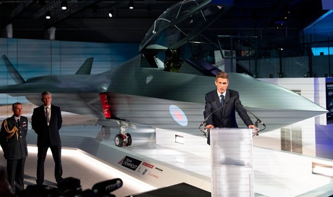Great Britain has submitted the concept of Tempest — the future fighter
