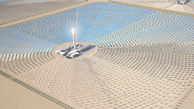 The African company wants to deliver v  Europe solar energy from the Sahara