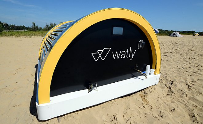 Watly – the computer giving clear water, energy and the Internet