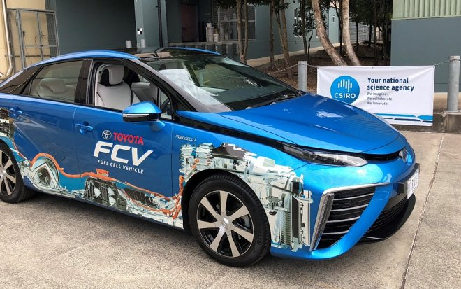Australia has tested ammoniac-hydrogen fuel batteries for cars