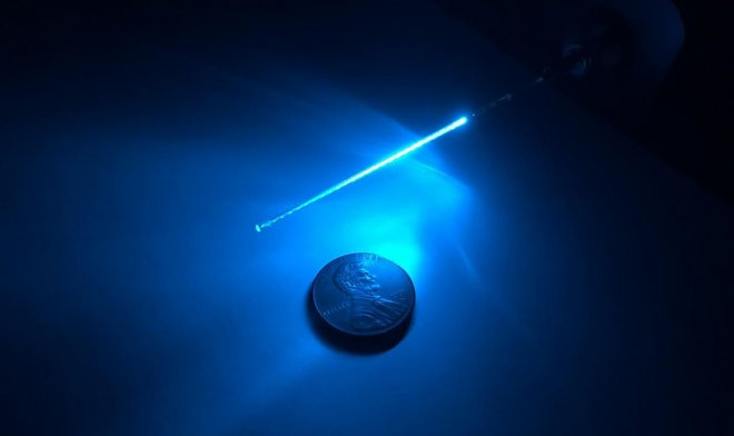 Ultraviolet and optical fiber will help to disinfect tools for injections