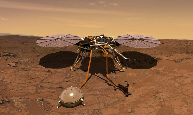 The historical mission of NASA InSight has gone to Mars